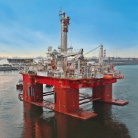 Newbuild Q7000 well intervention semisubmersible vessel is delivered to Helix Energy Solutions